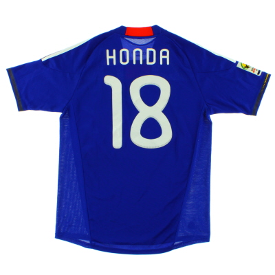 2009-10 Japan Home Shirt Honda #18 M