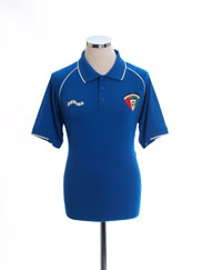 2009-10 Kuwait Burrda Polo Shirt *Mint* M