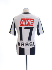 2009-10 LASK Linz Match Issue Home Shirt Kragl #17 M