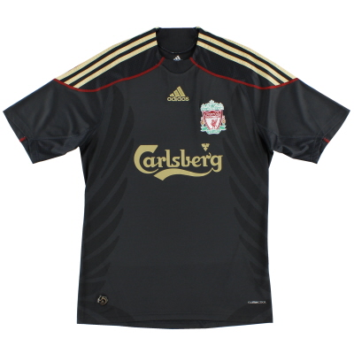 2009-10 Liverpool adidas Away Shirt *Mint* M