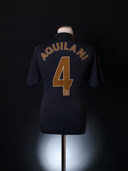2009-10 Liverpool Away Shirt Aquilani #4 S