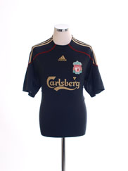 2009-10 Liverpool Away Shirt L