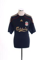 2009-10 Liverpool Away Shirt M