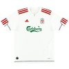 2009-10 Liverpool CL Third Shirt Johnson #2 L