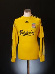 2009-10 Liverpool Goalkeeper Shirt L/S M