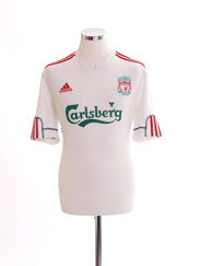 2009-10 Liverpool Third Shirt M