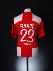 2009-10 Mainz 05 Home Shirt Bance #23 M