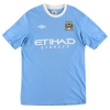 2009-10 Manchester City Home Shirt De Jong #34 M