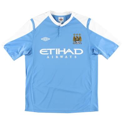 2009-10 Manchester City Training Shirt XL