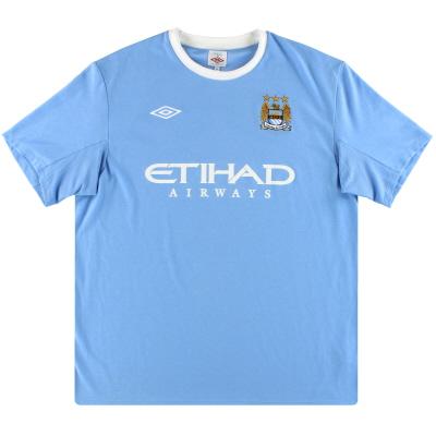 2009-10 Manchester City Umbro Home Shirt M