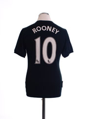 2009-10 Manchester United Away Shirt Rooney #10 XL.Boys