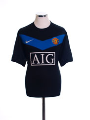2009-10 Manchester United Away Shirt XL