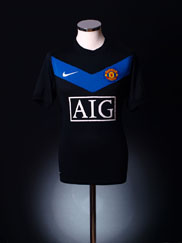 2009-10 Manchester United Away Shirt L.Boys