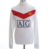 2009-10 Manchester United Goalkeeper Shirt van der Sar #1 M