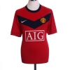 2009-10 Manchester United Home Shirt Owen #7 L