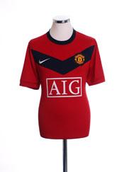 2009-10 Manchester United Home Shirt XL.Boys