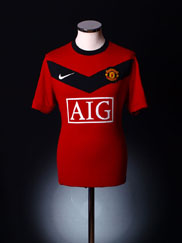 2009-10 Manchester United Home Shirt 3XL