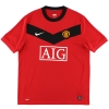 2009-10 Manchester United Nike Home Shirt Vidic #15 *Mint* M