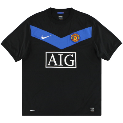 2009-10 Manchester United Nike Away Shirt *Mint* XL.Boys