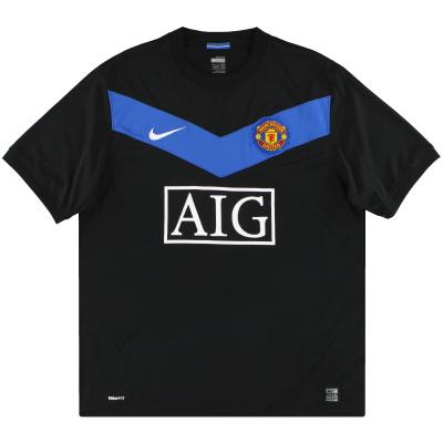 2009-10 Manchester United Nike Away Shirt *Mint* XL.Boys