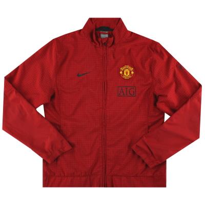 2009-10 Manchester United Nike Track Jacket L