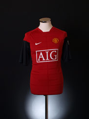 2009-10 Manchester United Nike Training Shirt S