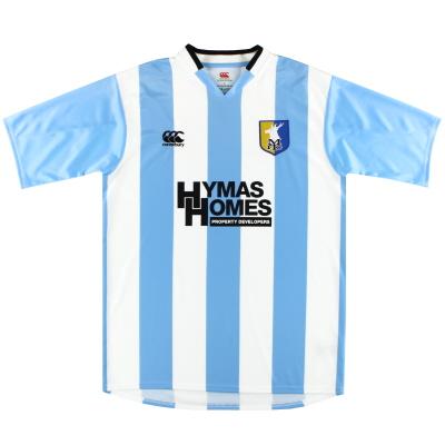 2009-10 Mansfield Canterbury Away Shirt L