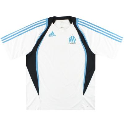 2009-10 Marseille adidas Training Shirt XL