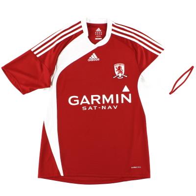 2009-10 Middlesbrough adidas Home Shirt *Mint* M