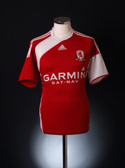 2009-10 Middlesbrough Home Shirt M