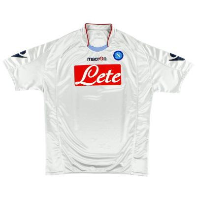 2009-10 Napoli Away Shirt S
