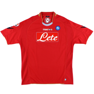 2009-10 Napoli Third Shirt L