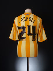 2009-10 Newcastle Away Shirt Carroll #24 *Mint* L