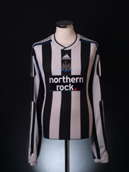 2009-10 Newcastle Home Shirt L/S XXL