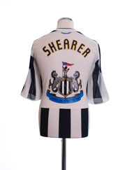 2009-10 Newcastle Home Shirt Shearer XL