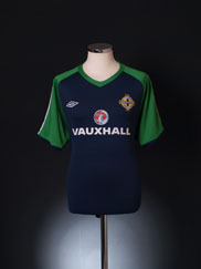 2009-10 Northern Ireland Umbro Training Shirt XL