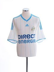 2009-10 Olympique Marseille Home Shirt #2 XXL