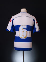 2009-10 QPR Lotto Home Shirt #6 L