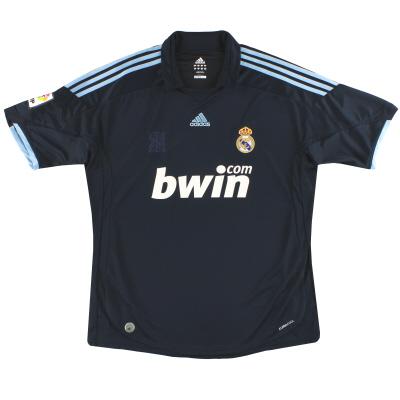 2009-10 Real Madrid adidas Away Shirt XL
