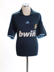 2009-10 Real Madrid Away Shirt L