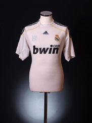2009-10 Real Madrid Home Shirt XL
