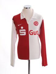 2009-10 Rot-Weiss Essen Home Shirt L/S L