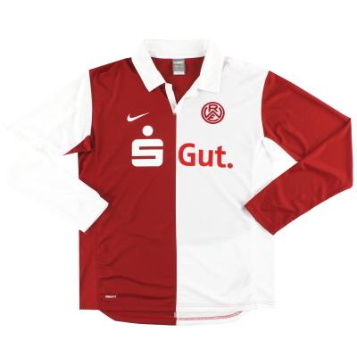 2009-10 Rot-Weiss Essen Nike Home Shirt L/S L