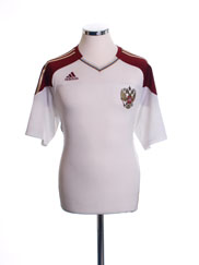2009-10 Russia Away Shirt M