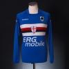2009-10 Sampdoria Home Shirt Cassano #99 L/S M