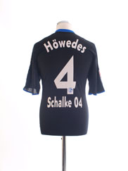 2009-10 Schalke Formotion Away Shirt Howedes #4 L