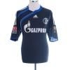 2009-10 Schalke Formotion Away Shirt Howedes #4 L