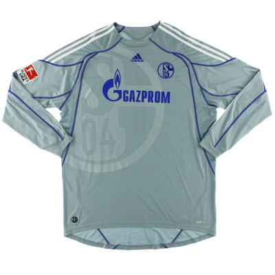 2009-10 Schalke Goalkeeper Shirt #1 XXL