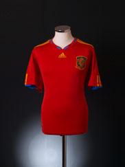 2009-10 Spain Home Shirt L