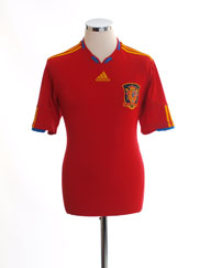 2009-10 Spain Home Shirt M